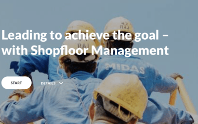 Leading to achieve the goal – with Shopfloor Management