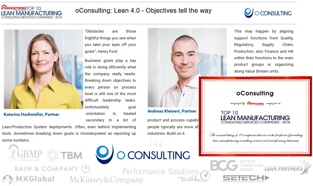 Top 10 Lean Manufacturing Consulting/Services Companies